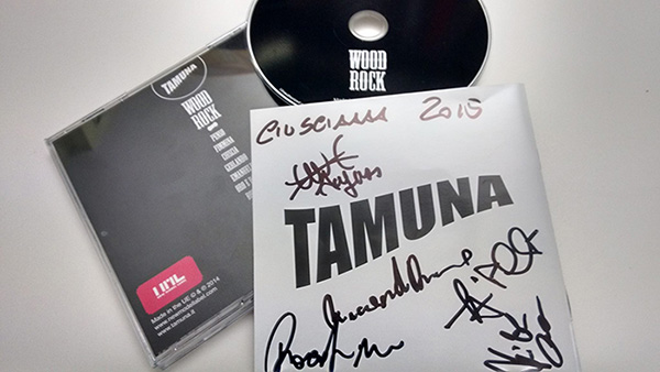 Tamuna - Wood Rock